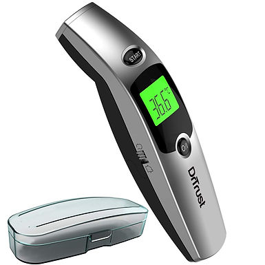 Dr Trust (USA) Forehead Digital Infrared Thermometer for Babies and Adults with