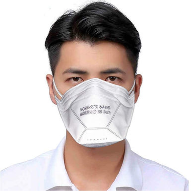 Magnum Flat Fold Respirator with NIOSH N95 Certification, Pack of 1