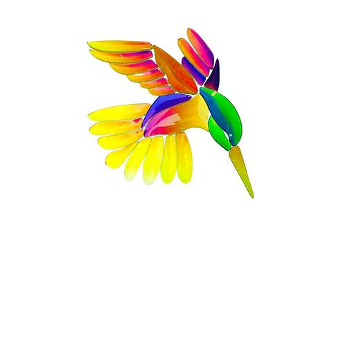 Dichroic Hummingbird GST 9 Bevel Cluster