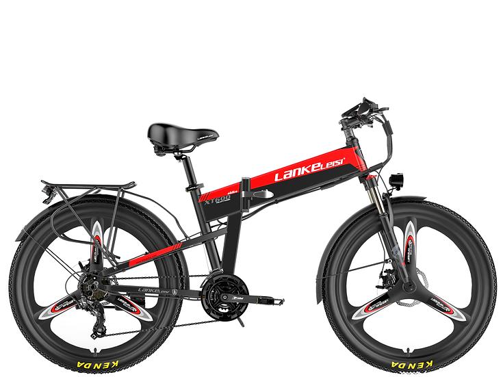 XT600 LankRover 26in Foldable Electric Bike