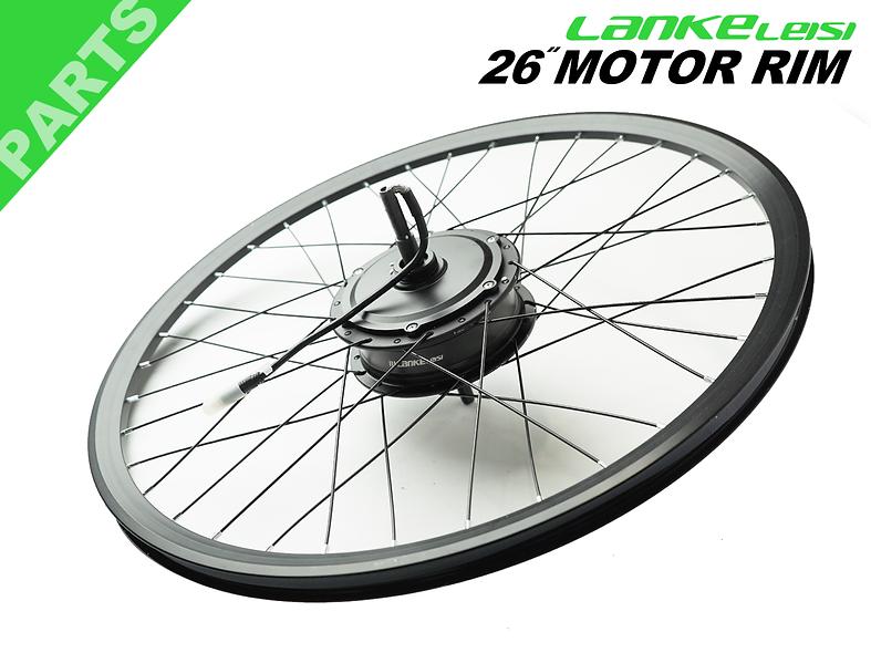 26in Motor spoke rim