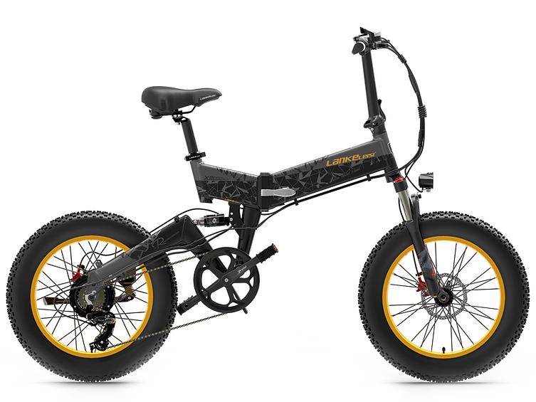 X3000 Roadster 20in Fat tire Folding e-bike