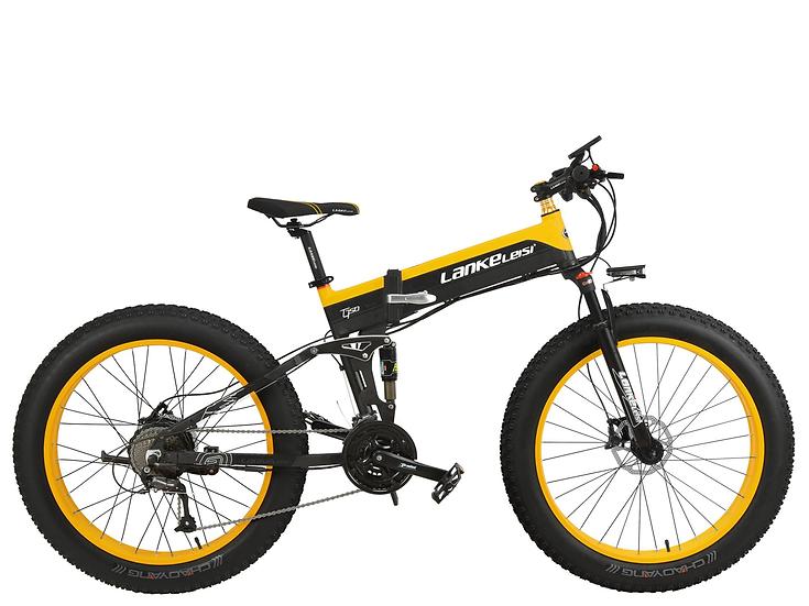 T750 PLUS LankRover Fat tire Foldable Electric Bike