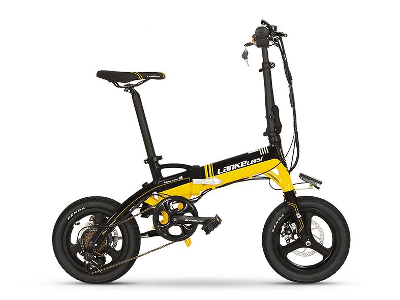 A6 LankMini 14in  Foldable Electric Commuter Bike