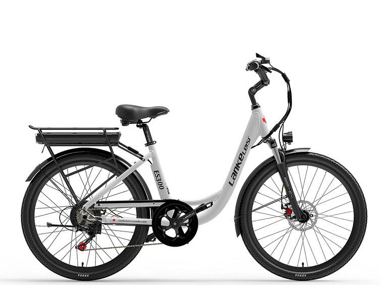 ES300 LankCruiser 26in Step-Thru Electric Bike