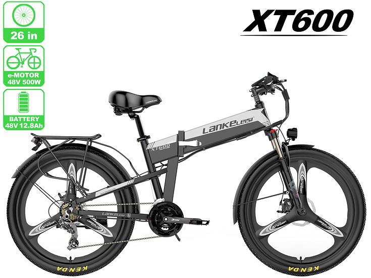 XT600 LankRover 26in Foldable Electric Bike