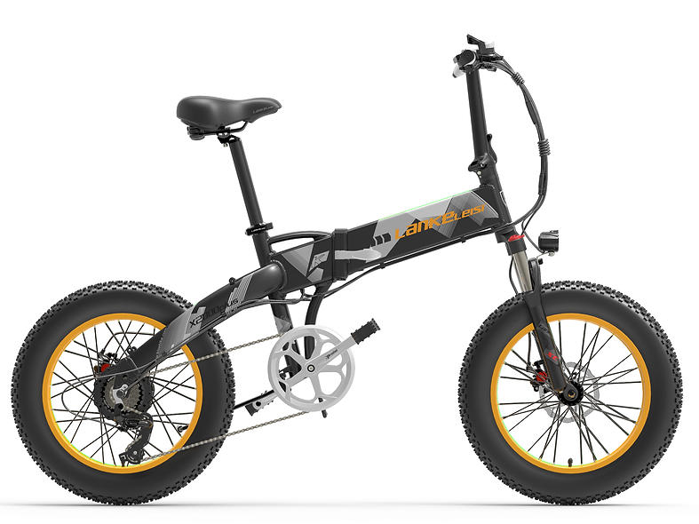X2000 Raptor 20in Foldable Fat tire Electric Bike