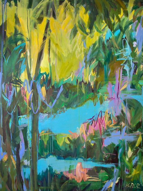 TROPIC RIVER(6ftx5ft)