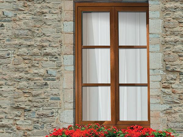 Art et fenêtres Paris 12 PVC Ambre classique