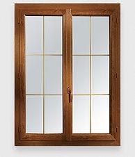 Art et fenêtres PVC Ambre classique