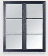 Art et fenêtres PVC Ambre Droit