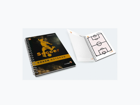 Get On the Ball with our new Coach Notepad