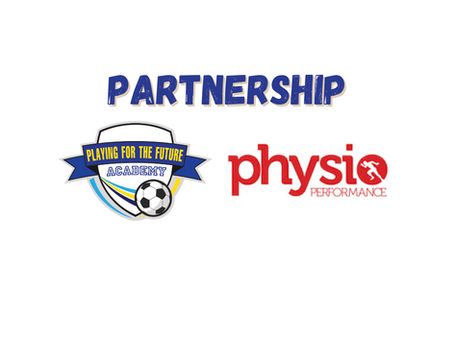 Academy teams up with Physio Performance