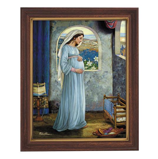 Mary, Mother of God framed print
