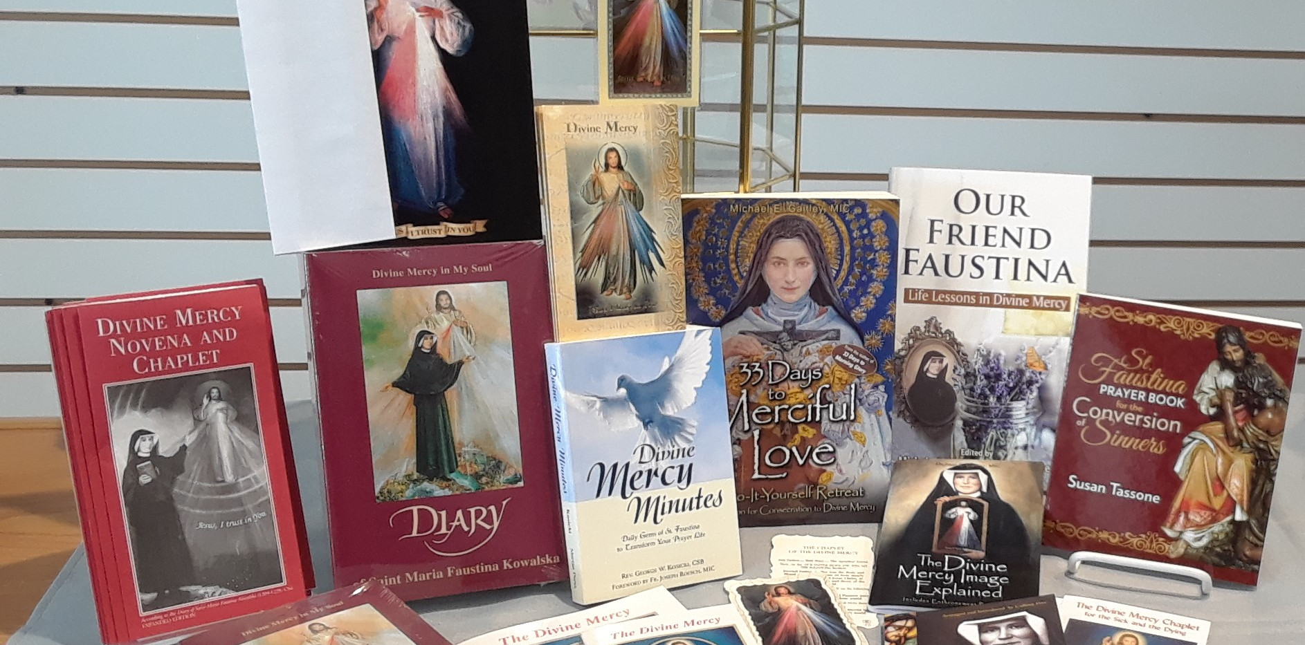 Divine Mercy books and pamphlets