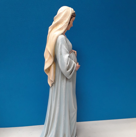 Mary, Mother of God (side view)