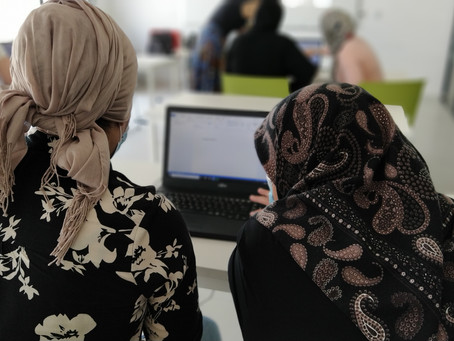 Digital Literacy Course for refugee women