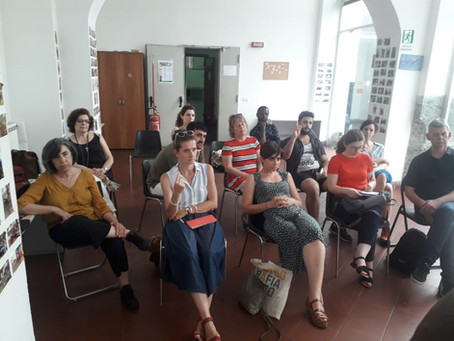Study Visit in Vertecoeli Reception Centre - Naples, Italy