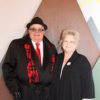 Bishop Bill Hogg and his wife