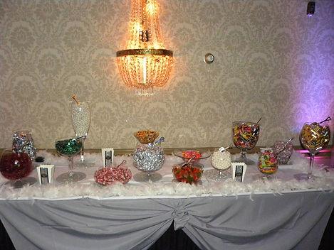 Wedding Candy Table Lighting
