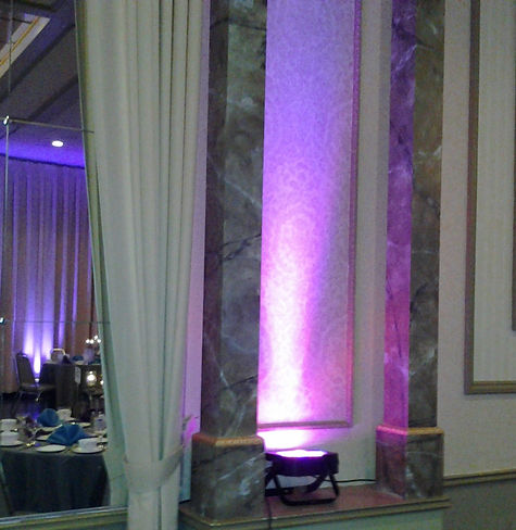 Wedding Wall Uplighting Special Color
