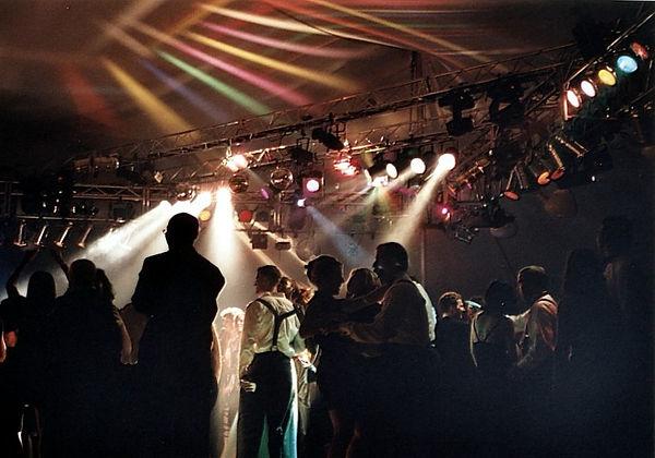 Baltimore Zoomerang Dance Lighting