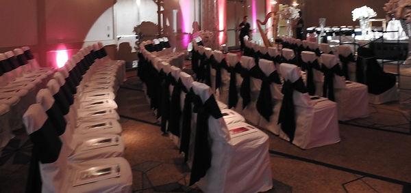 Wedding Ceremony Room Seating Lighting