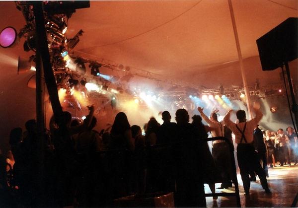 Baltimore Zoomerang Party Dance Lighting