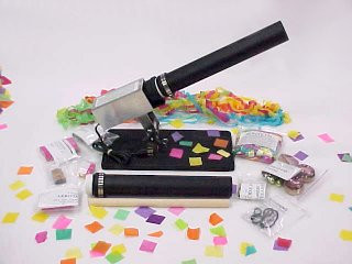 Confetti Cannons for Theater-Parties-Grand Openings & More!