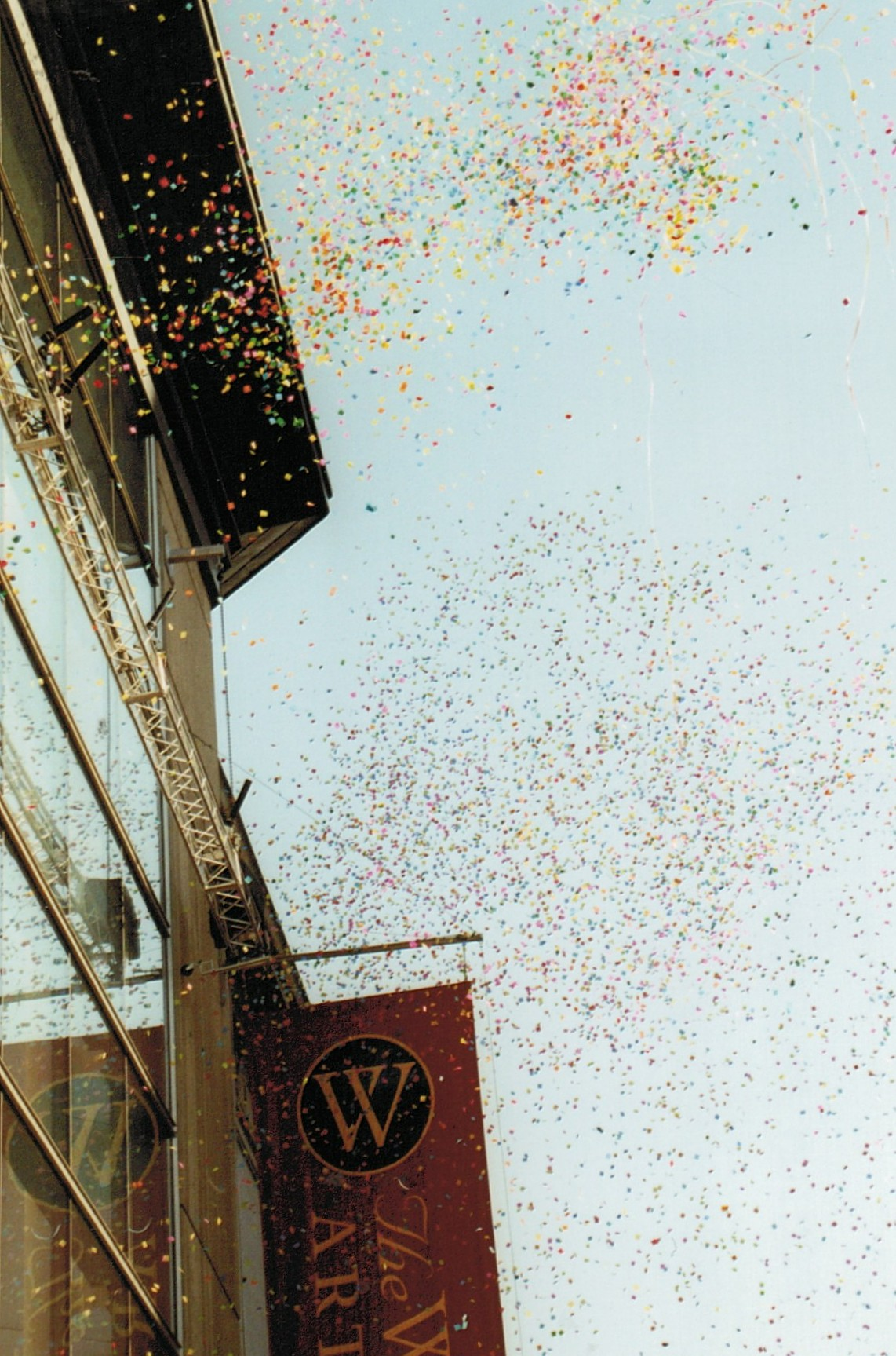 Walters Art Gallery Wing Opening Confetti