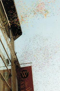 Walters Art Gallery Wing Opening Confetti