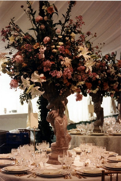 Wedding Large Floral Table Lighting