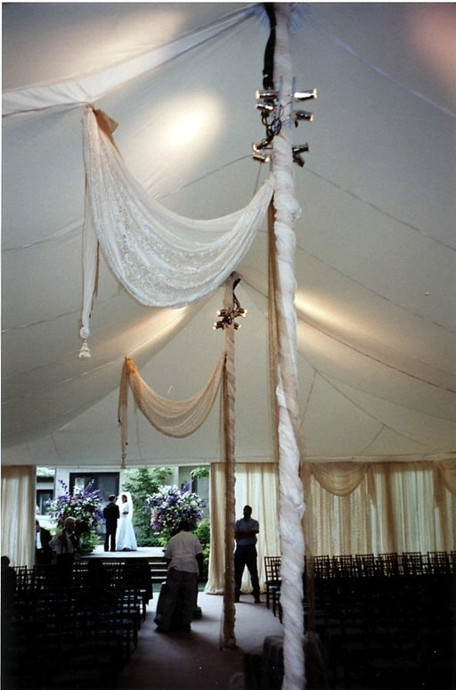 Wedding Tent Lighting Services