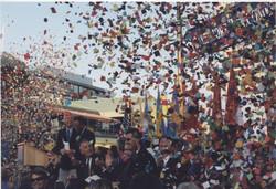 Baltimore Welcomes  Whitbread Race Confetti
