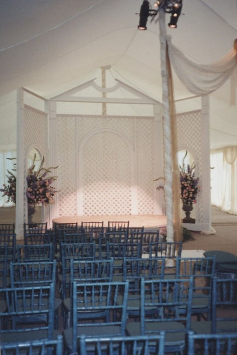 Wedding Ceremony Lighting Tent