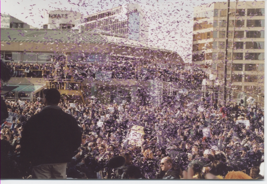 Super Bowl Pep Rally