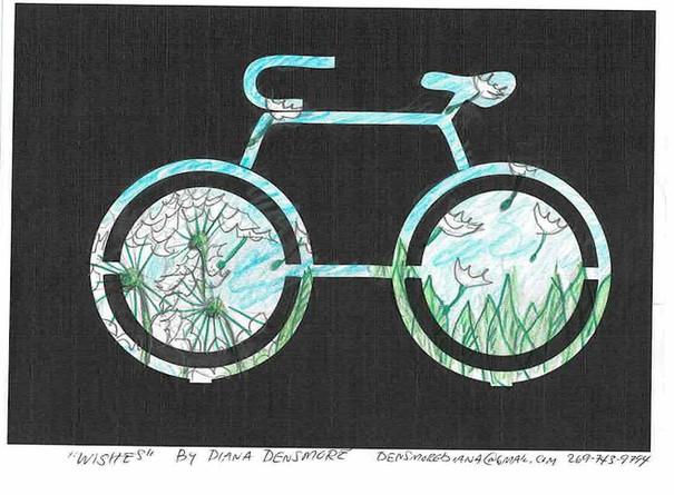 Diana Densmore, Bike Rack Sketch