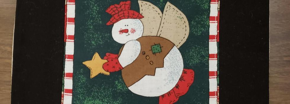 Snow Angel Hotpad by Angie Larsen