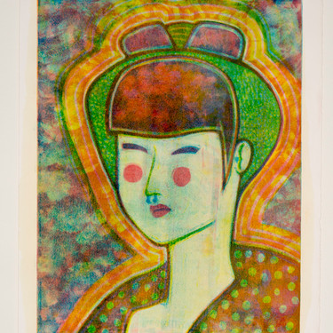 Self-Portrait 9/10 by Haley Takahashi