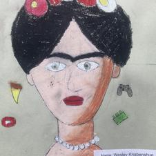 """""""Frida Portrait"""" by Wesley Knabenshue"""