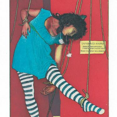 A Marionette by Alan Larkin