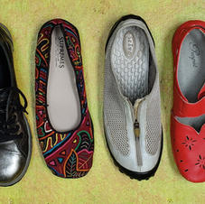 The Typology of Six Shoes for Six Feet