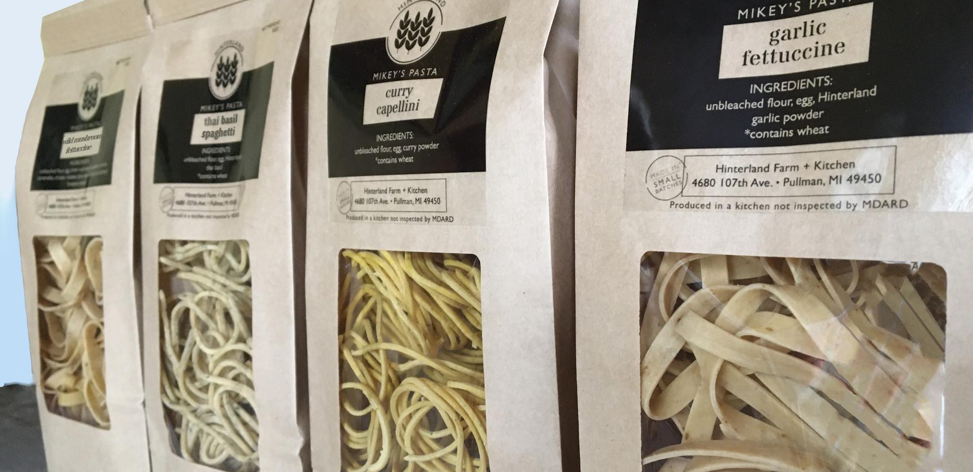 Pasta by Hinterland Farm + Kitchen