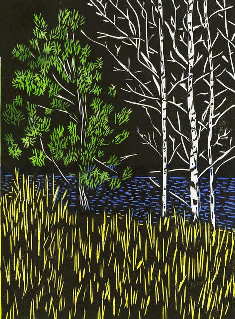 Night at the Lake by Ben Bohnsack