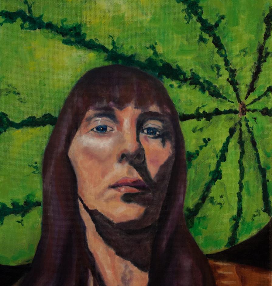 Self-Portrait by Michelle Shaw