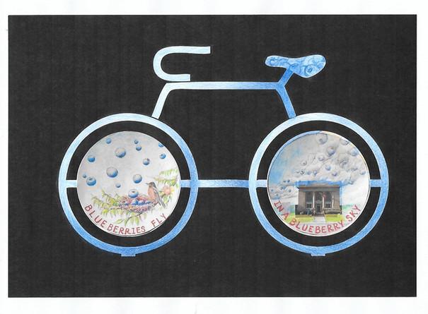 David Baker, Bike Rack Sketch