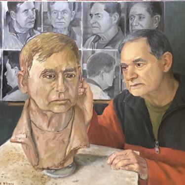 Me Sculpting Me by Robert R. Williams
