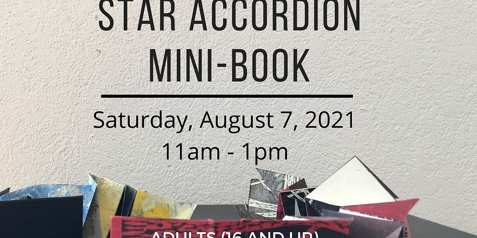 Star Accordion Mini-book Workshop
