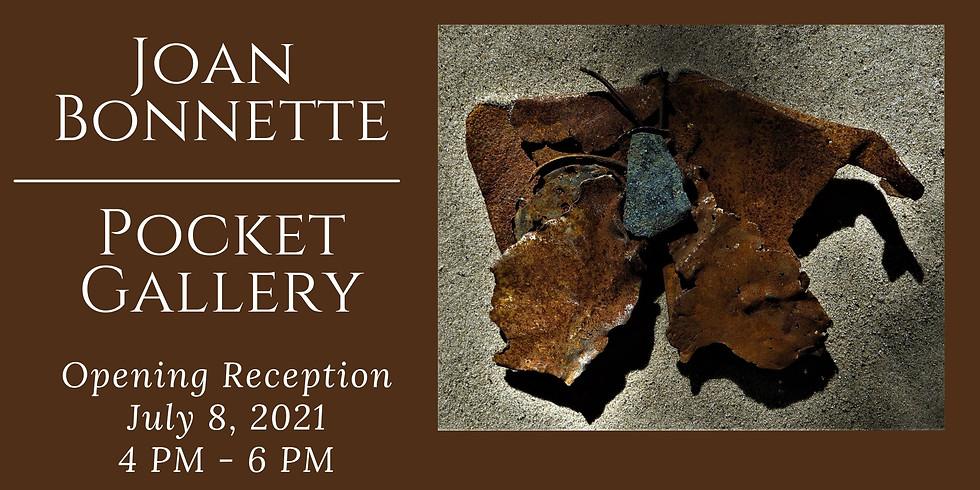 Joan Bonnette, Pocket Gallery Opening Reception