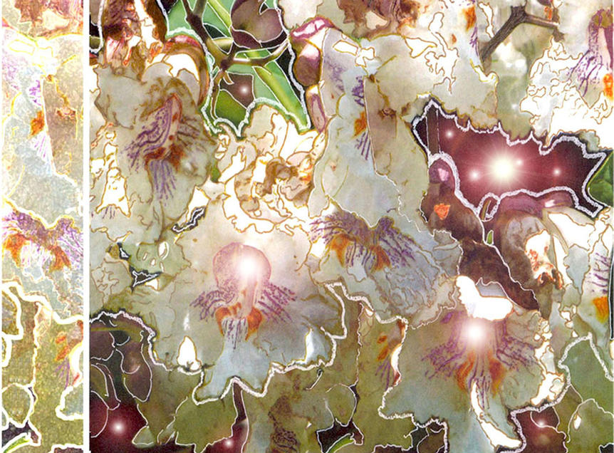 Caltapa Blossoms by Teri Bult